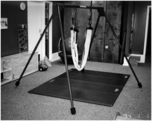 11 - portable indoor swing set